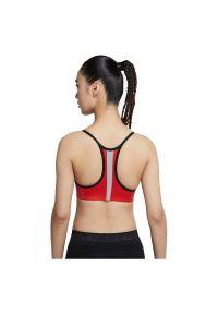 Biustonosz sportowy Nike Pro Indy CZ7186. Materiał: poliester, nylon, materiał. Rodzaj stanika: wyciągane miseczki. Technologia: Dri-Fit (Nike). Sport: fitness