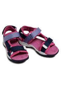 Geox Sandały J Borealis G. A J150WA 01511 C4268 S Różowy. Kolor: różowy