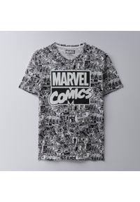 House - Koszulka Marvel - Biały. Kolor: biały. Wzór: motyw z bajki