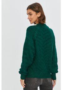 Zielony sweter Answear Lab z długim rękawem, na co dzień