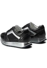 Czarne buty sportowe Togoshi na co dzień, z cholewką
