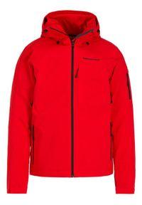 Czerwona kurtka sportowa Peak Performance narciarska #6
