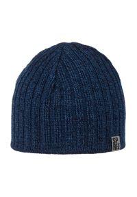 Niebieska czapka Spree klasyczna, na jesień