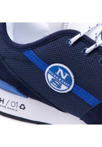 North Sails - Sneakersy NORTH SAILS - RH/01 Recy -054 Navy. Kolor: niebieski. Materiał: materiał, zamsz, skóra. Szerokość cholewki: normalna #7