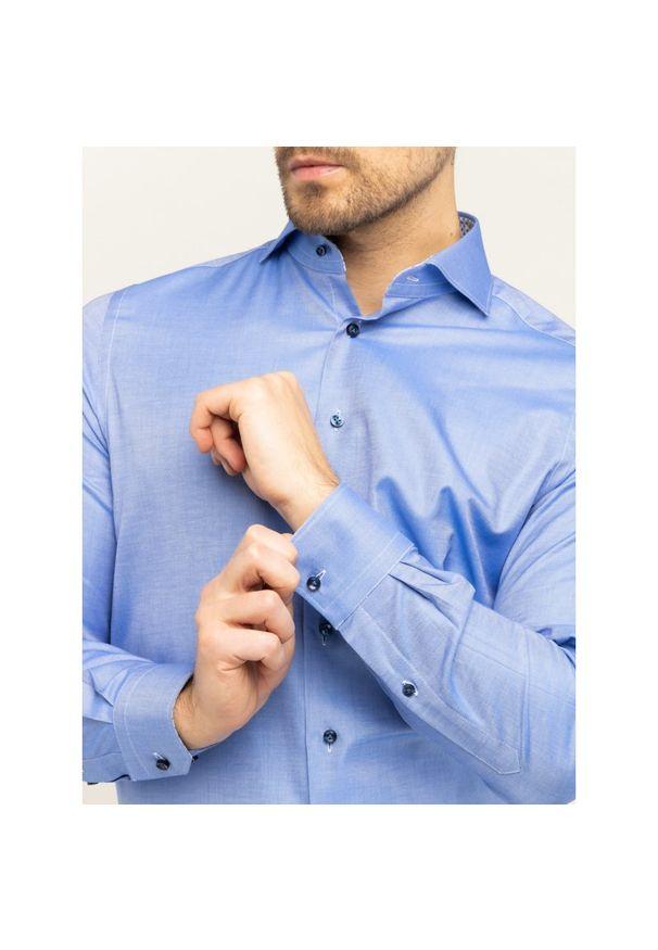 Niebieska koszula Emanuel Berg