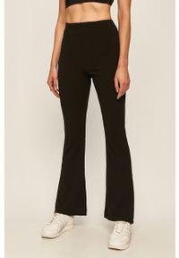 Czarne spodnie materiałowe Brave Soul