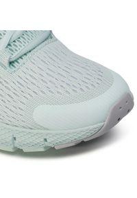 Zielone buty do biegania Under Armour z cholewką