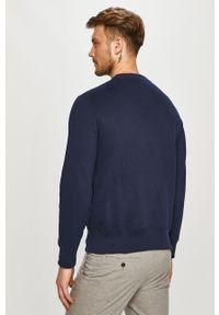 Niebieska bluza nierozpinana Polo Ralph Lauren casualowa, polo, na co dzień, z nadrukiem