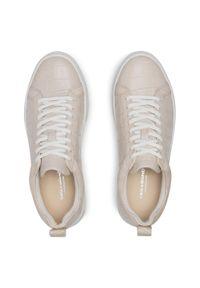 vagabond - Sneakersy VAGABOND - Zoe Platfo 4827-208-02 Off White. Kolor: beżowy. Materiał: skóra. Szerokość cholewki: normalna. Obcas: na płaskiej podeszwie