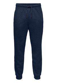 Niebieskie spodnie dresowe Only & Sons