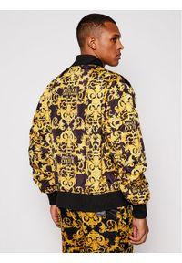 Żółta kurtka bomberka Versace Jeans Couture