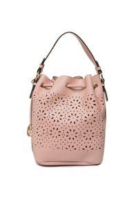 Różowa torebka worek Monnari
