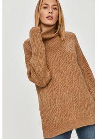 Sweter Answear Lab długi, z długim rękawem