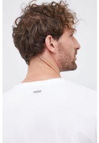Hugo - T-shirt (2-pack). Kolor: czarny. Materiał: dzianina. Wzór: gładki
