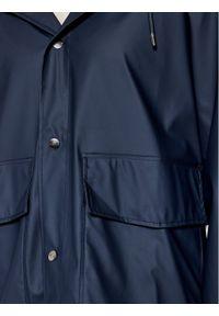 Rains Kurtka przeciwdeszczowa Unisex 1826 Granatowy Regular Fit. Kolor: niebieski #10