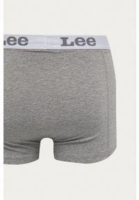 Lee - Bokserki (2-pack). Kolor: szary. Materiał: bawełna