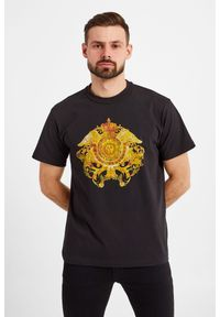 Versace Jeans Couture - T-SHIRT VERSACE JEANS COUTURE. Styl: elegancki #4