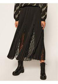 Czarna spódnica plisowana Guess