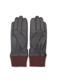Brązowe rękawiczki Wittchen