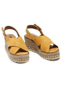 Refresh - Espadryle REFRESH - 72854 Amarillo. Okazja: na co dzień. Kolor: żółty. Materiał: materiał. Sezon: lato. Styl: casual #5