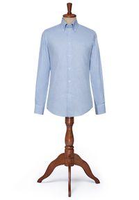 Niebieska koszula Lancerto na co dzień, button down