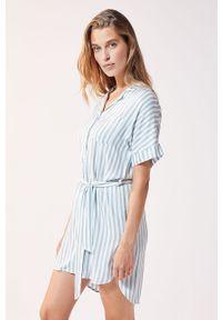 Niebieska piżama Etam krótka