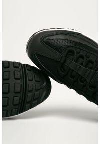 Czarne buty sportowe Nike Sportswear na sznurówki
