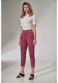 Różowe spodnie Figl
