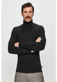 Czarny sweter Marc O'Polo polo
