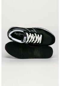 Pepe Jeans - Buty Cross 4 Sailor. Nosek buta: okrągły. Zapięcie: sznurówki. Kolor: czarny. Materiał: guma