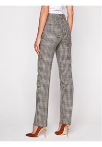 Spodnie materiałowe Victoria Victoria Beckham w kolorowe wzory