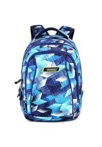 Target Plecak szkolny 2w1 , Niebieski z wzorem. Kolor: niebieski