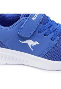 Niebieskie półbuty KangaRoos na rzepy, z cholewką