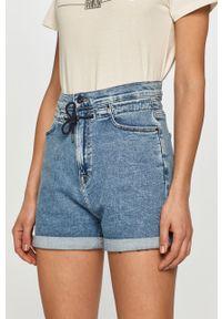 Niebieskie szorty Pepe Jeans casualowe, na co dzień, gładkie #4