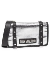 Srebrna listonoszka Love Moschino