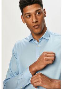 Koszula Premium by Jack&Jones gładkie, z klasycznym kołnierzykiem, klasyczna