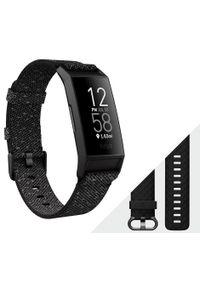 Czarny zegarek FITBIT
