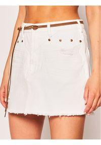 Biała spódnica jeansowa One Teaspoon