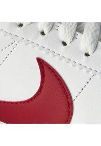 Białe buty sportowe Nike Nike Cortez, z cholewką