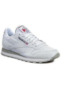Białe buty sportowe z cholewką, Reebok Classic