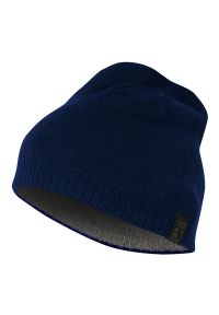 Niebieska czapka Pako Jeans na zimę