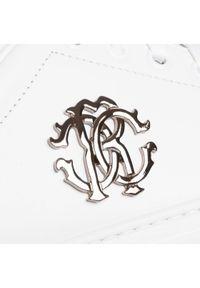 Białe sneakersy Roberto Cavalli #6