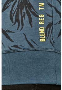 Niebieska bluza nierozpinana Blend bez kaptura, na co dzień, casualowa
