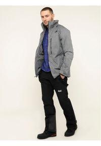 Czarne spodnie sportowe Jack Wolfskin narciarskie