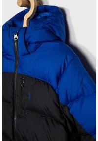 Czarna kurtka Polo Ralph Lauren z kapturem