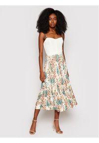 Marciano Guess Sukienka letnia 1GG724 6063A Kolorowy Slim Fit. Wzór: kolorowy. Sezon: lato
