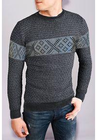 Szary sweter IVET na jesień