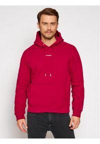 Calvin Klein Jeans Bluza J30J317388 Różowy Loose Fit. Kolor: różowy