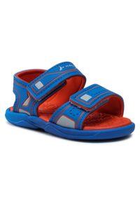 Niebieskie sandały Rider