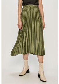 Zielona spódnica Haily's gładkie, casualowa
